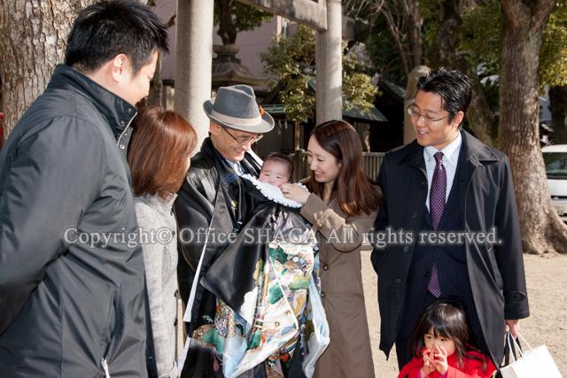 大阪ベビー写真、ベビーフォト、お宮参り写真、ロケーションフォト、出張写真の縦構図04