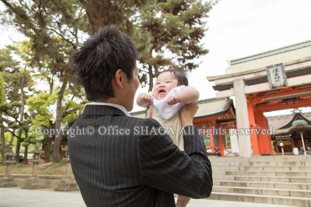 大阪ベビー写真、ベビーフォト、お宮参り写真、ロケーションフォト、出張写真の縦構図44