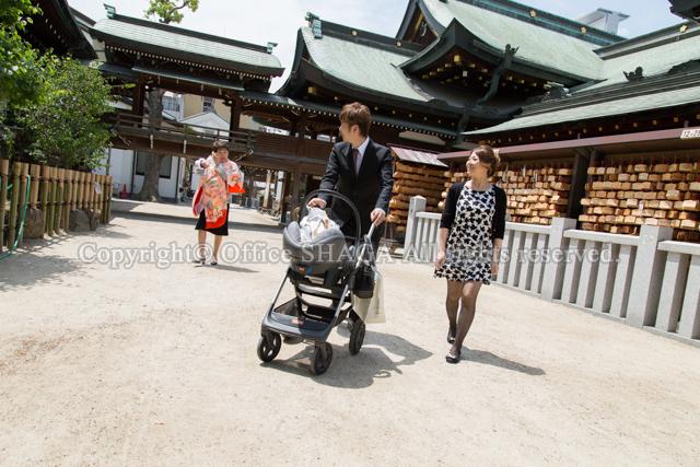 大阪ベビー写真、ベビーフォト、お宮参り写真、ロケーションフォト、出張写真の縦構図49